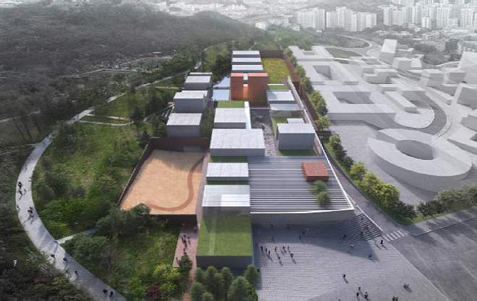 ㈜디엔비건축사사무소 '문학 빌리지', 국립한국문학관 건립 국제 설계공모 당선 - 2021년 하반기부터 설계 시행, 2022년 하반기 착공 예정 -